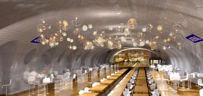 Архитекторы нашли новое применение станциям метро. Изображение № 4.