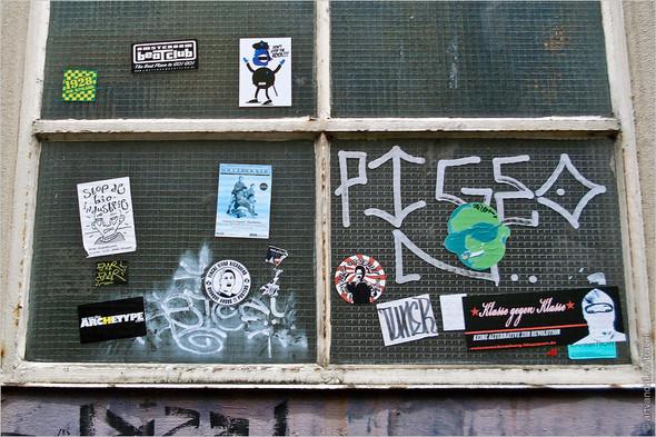 Стрит-арт и граффити Амстердама, Нидерланды. Изображение № 23.