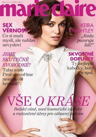 Обложки октября: Elle, Marie Claire, Interview и другие. Изображение № 14.