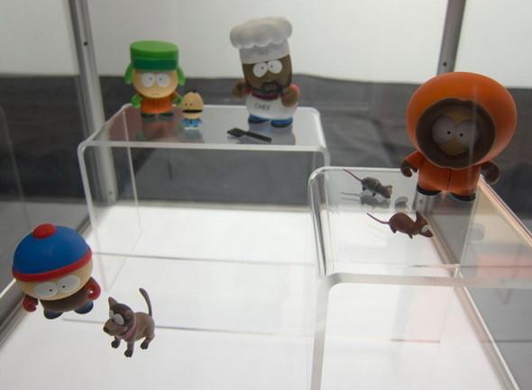 Выставка Рона Инглиша в честь South Park. Изображение № 5.