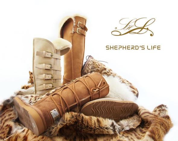 Новая коллекция уггов от бренда Shepherd's Life. Изображение № 1.