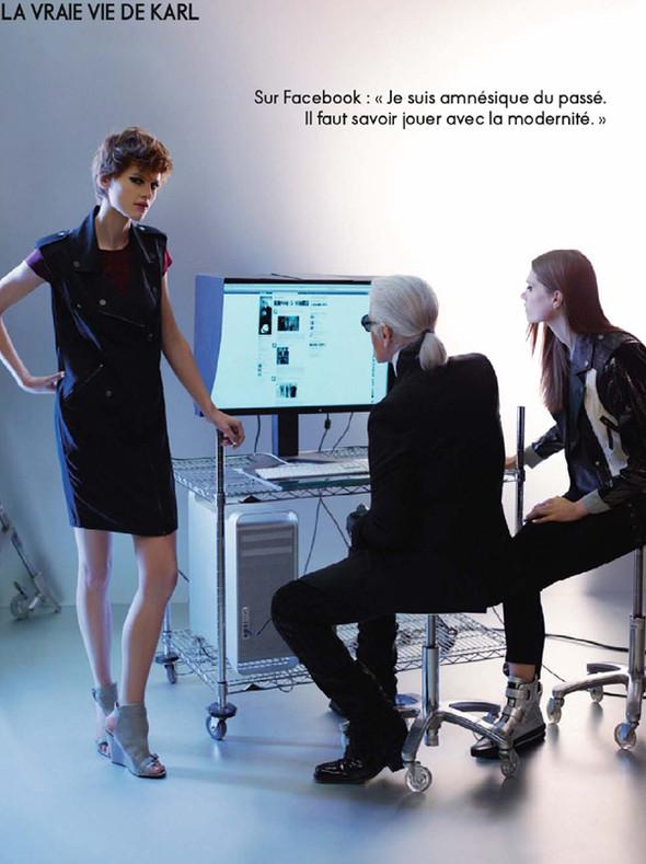 Съёмки: Elle, i-D и Vogue. Изображение № 3.