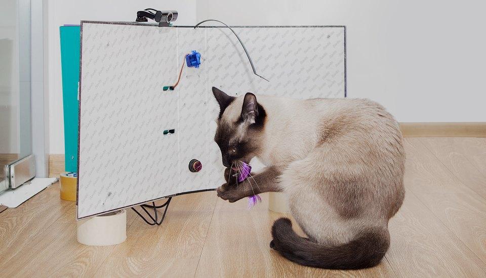 Как сделать фотобудку  для кота. Изображение № 17.