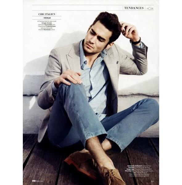 Изображение 44. Мужские съемки: GQ, Vogue Hommes и другие.. Изображение № 40.