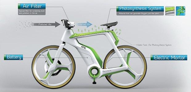 В Таиланде создают велосипед, очищающий воздух. Изображение № 2.