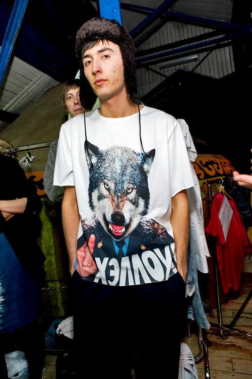 Мужские футболки DENIS SIMACHEV fw'09. Изображение № 4.