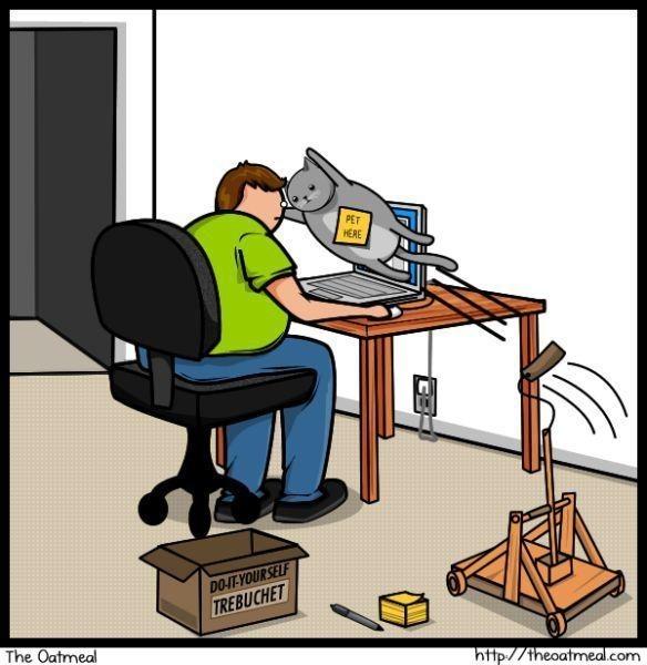Cat vs. Internet. Изображение № 11.