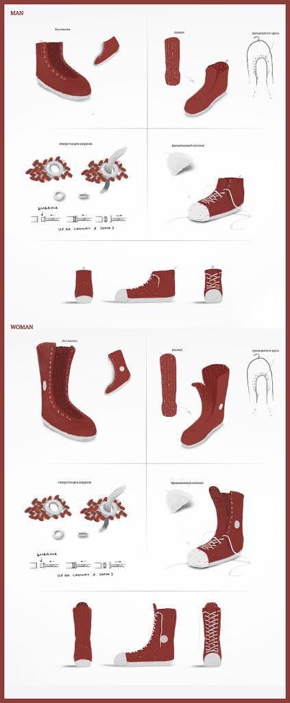 """""""Кувлувы"""" - это такие носки от Red Keds. Изображение № 4."""