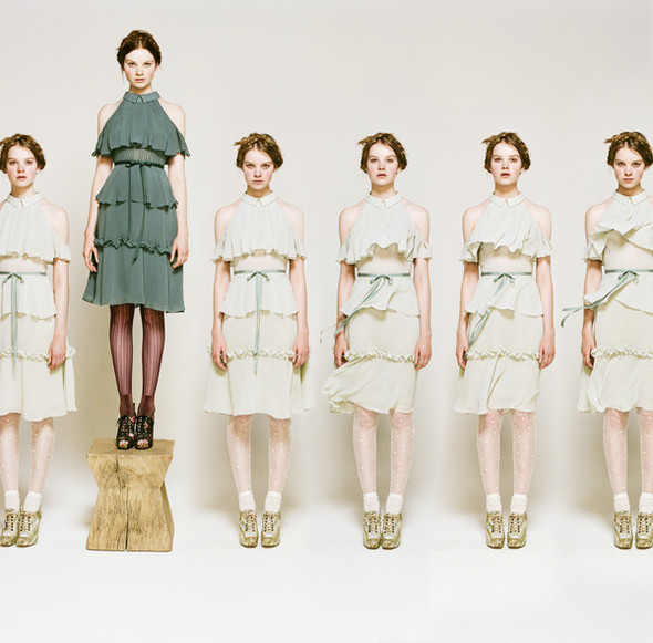 Лукбук: Rodarte for Opening Ceremony FW 2011. Изображение № 23.