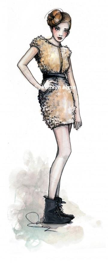 Kathryn Elyse. Fashion Illustrations. Изображение № 14.