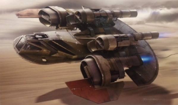 В Сеть выложили 32 концепт-арта для «Звёздных войн VII». Изображение № 22.