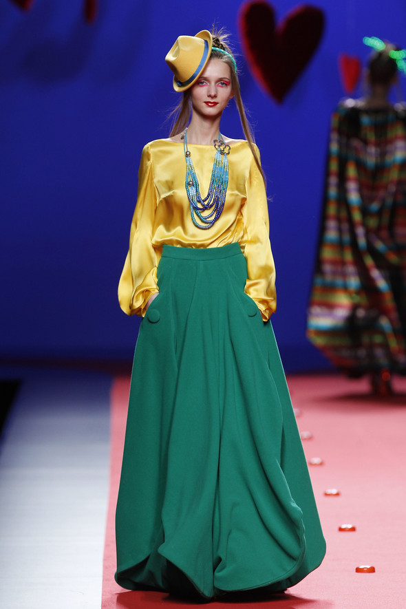 Испанцы Fall Winter 2011/2012: AGATHA RUIZ DE LA PRADA. Изображение № 22.