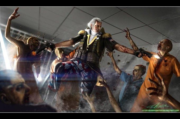 Американские президенты изображены героями игр. Изображение № 2.