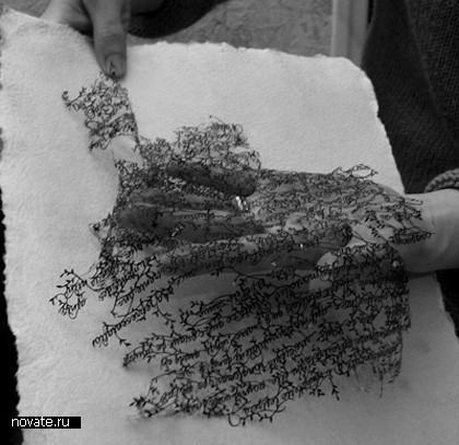 Необыкновенные кружева изобычной бумаги. Hina Aoyama. Изображение № 6.