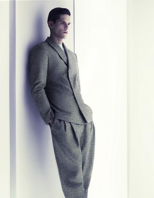 Кампания: Giorgio Armani FW 2011 Menswear. Изображение № 1.