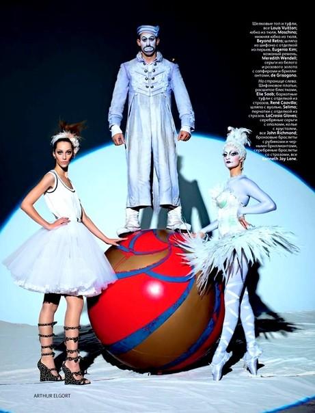 Алана Циммер и Кристал Рэн для Vogue Russia. Изображение № 8.