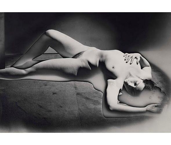 Части тела: Обнаженные женщины на винтажных фотографиях. Изображение № 61.