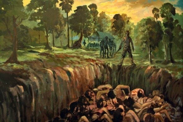 Кхмерский художник Vann Nath. Изображение № 10.