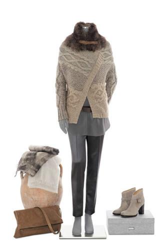 Brunello Cucinelli: лукбук осень-зима 2011/2012. Изображение № 54.