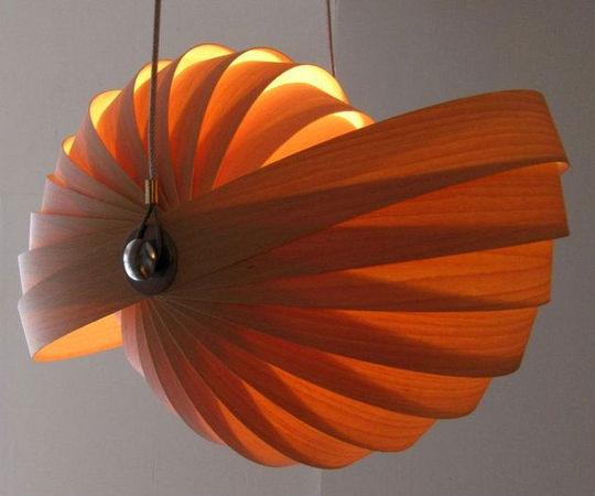Скульптурные светильники из фанеры от Passion 4 Wood. Изображение № 6.