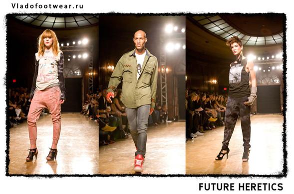 Vladofootwear & Future Heretics Показ 2009. Изображение № 1.