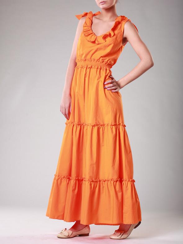 Лукбук YETONADO: летнее настроение и длинные платья. . Изображение № 4.