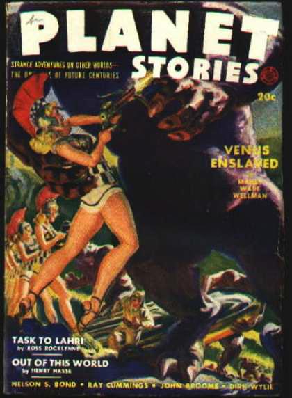 Космические обложки Pulp-журналов. Изображение № 16.