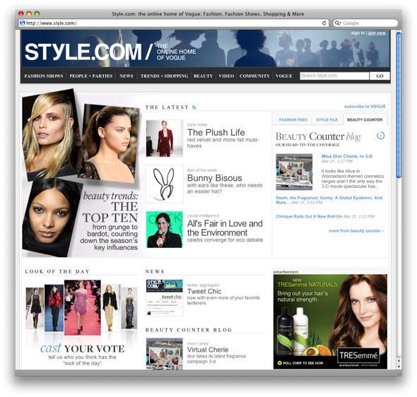 Новости: Topshop, Yves Saint Laurent и Style.com. Изображение № 2.