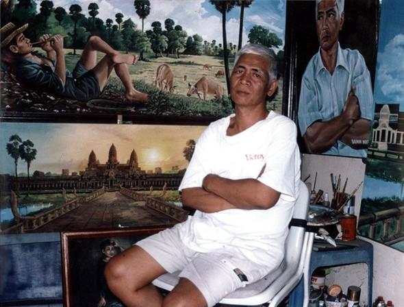 Кхмерский художник Vann Nath. Изображение № 23.