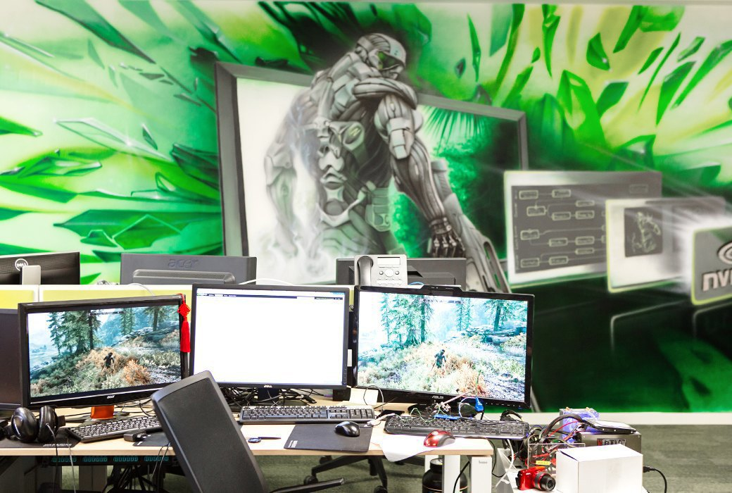 Где работают создатели процессоров Nvidia. Изображение № 10.