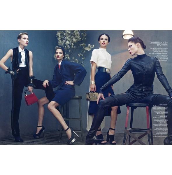 5 новых съемок: Interview, Marie Claire и Vogue. Изображение № 37.