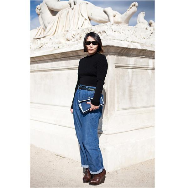 Луки с Недели моды в Париже. Изображение № 6.