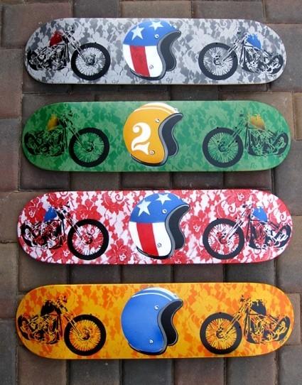 К доске: 10 художников-скейтбордистов. Изображение №31.