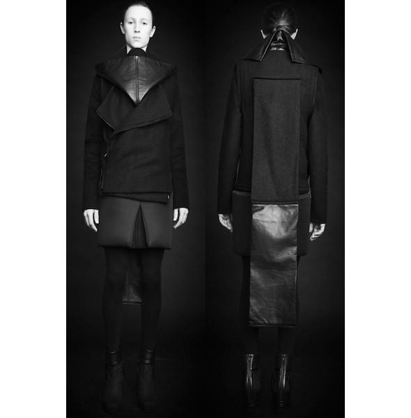 Изображение 39. Лукбуки: Bergdorf Goodman, Jaeger Black и Rad Hourani.. Изображение № 39.