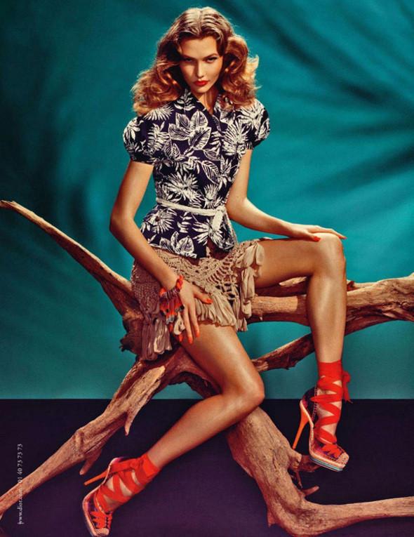 Изображение 4. Рекламная компания весна Dior.. Изображение № 4.