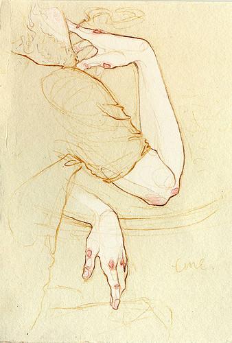 Чувства; карандашом и акварелью. Изображение № 12.