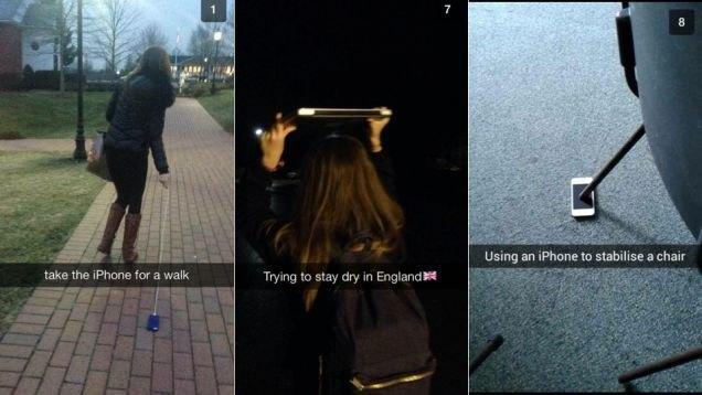 Что выкладывают в Snapchat богатые школьники. Изображение № 2.