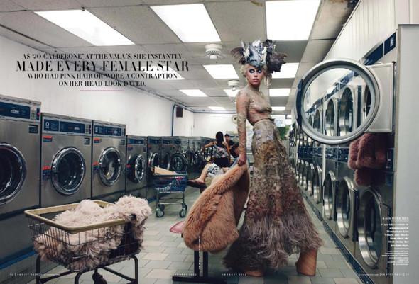 Съёмка: Леди Гага для Vanity Fair. Изображение № 4.