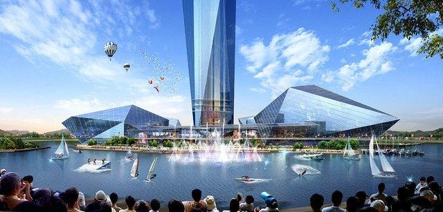 Под Сеулом собираются строить небоскрёб-невидимку . Изображение № 2.