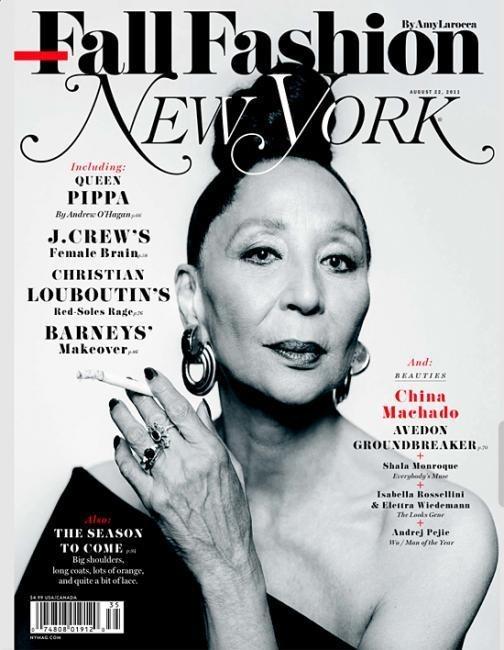 Обложки: Harper's Bazaar, Interview, New York Magazine и другие. Изображение № 5.