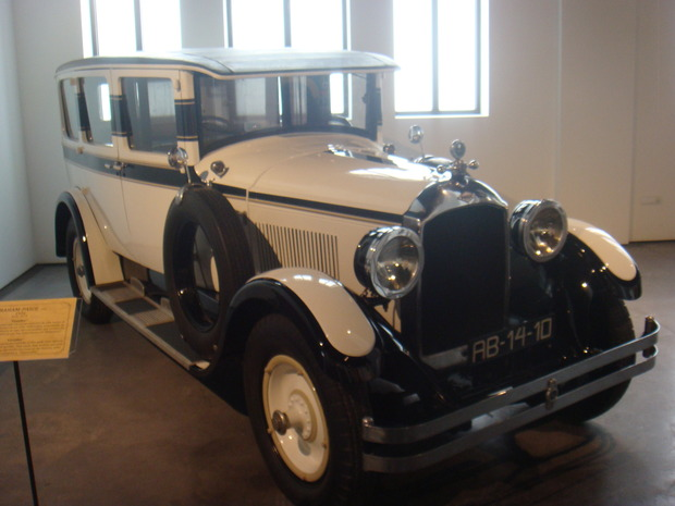 Испанский музей ретро-автомобилей. Изображение № 5.