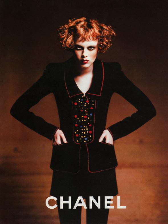 Архивная съёмка: Карен Элсон для кампании Chanel за 1997 год. Изображение № 6.