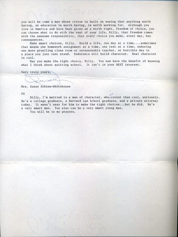 Письма маленького Билли известным и не очень людям. Изображение № 4.