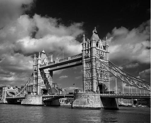 20 черно-белых фотографий мостов совсего мира. Изображение № 19.