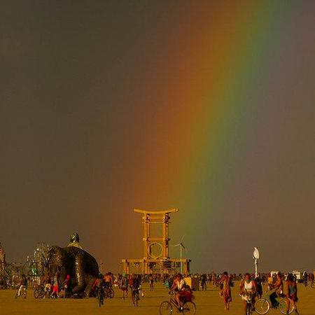 """Фестиваль """"Burning Man! """" вНеваде. Изображение № 27."""