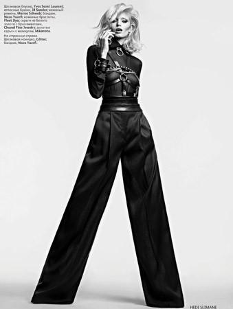 Съёмка в российском Vogue, апрель 2011. Изображение № 62.