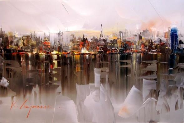 Красные зонтики художника Kal Gajoum. Изображение № 1.