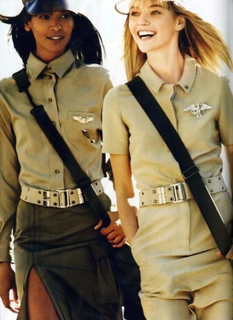 Изображение 9. Фотосессия в Vogue в стиле милитари.. Изображение № 9.