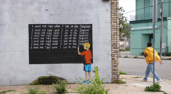 Изображение 3. Banksy (уличная мышь – герой).. Изображение № 3.