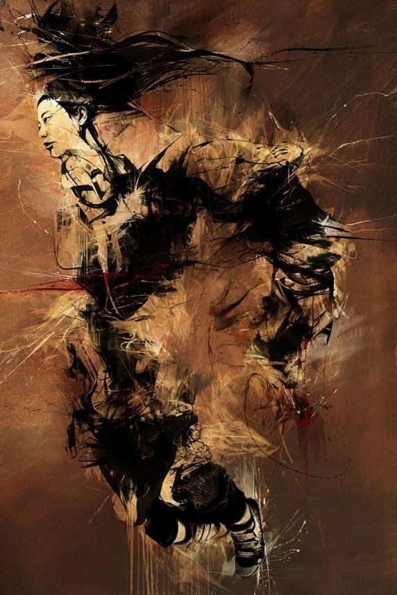 Russ Mills : графика, фотография и живопись. Изображение № 4.